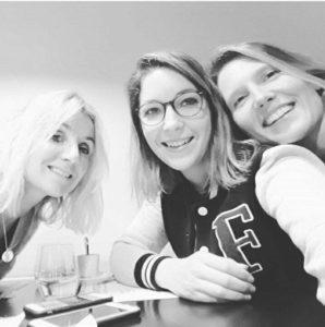 Bérengère CANDEILLE, Sophie WIEL et Anne-cerise DELABY